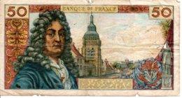 Billet Racine 50 Francs Année 1965 . - 1962-1997 ''Francs''