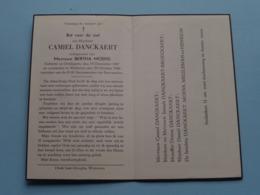 DP Camiel DANCKAERT ( Bertha MOENS ) Oordegem 15 Dec 1887 - Wetteren 29 Oct 1949 ( Zie Foto's ) ! - Obituary Notices