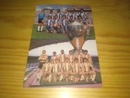 """Postcard Portuguese, Postal Portugal """"Futebol Clube Do Porto, Campeão Europeu De Clubes... 1987."""" - Voetbal"""