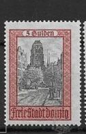 1924 MH Danzig Michel 210 - Dantzig