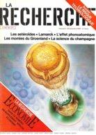 La Recherche N° 183 + Supplément - Décembre 1986 (TBE+) - Sciences
