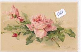 CPA ( Précurseur)  - 37658- Illustrateurs - Motif Floral Par  Catharina Klein - Envoi Gratuit - Klein, Catharina