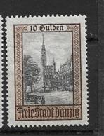 1924 MH Danzig Michel 211 - Dantzig