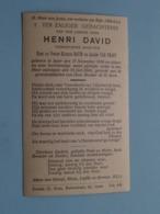 DP Henri DAVID ( Zoon Van David/Van Praet ) Ieper 17 Nov 1928 - 25 Juli 1940 ( Zie Foto's ) ! - Overlijden