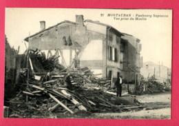CPA (Réf : Y462)  MONTAUBAN (82 TARN-et-GARONNE) Faubourg Sapiacou Vue Prise Du Moulin (animée) - Montauban