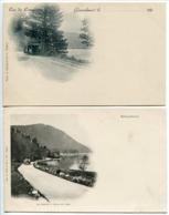 LOT 2 Pionnières Nuage * GERARDMER Lac De Longemer (avec Le Tramway ) & Le Phény Et Coin Du Lac - Gerardmer