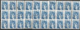 Sabine De Gandon - YT 2156 - Lot De 30 - Oblitérations Diverses - 1977-81 Sabine De Gandon