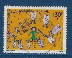 """Nle-Caledonie YT 666 """" Philatélie à L'école """" 1994 Oblitéré - Usati"""