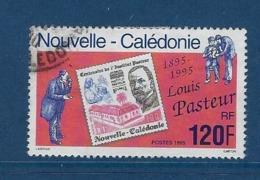 """Nle-Caledonie YT 680 """" Louis Pasteur """" 1995 Oblitéré - Neukaledonien"""