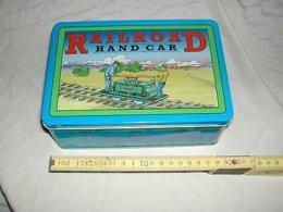Blechspielzeug - Railroad Handcar - Schylling Collector Series 1999 - OVP (804) - Antikspielzeug