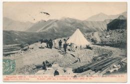 CPA - PARPAILLON (Hautes Alpes) - Chantier De La Tête Nord, Construction Du Tunnel... En Face On Aperçoit... - France