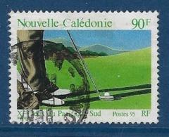 """Nle-Caledonie YT 699 """" Golfeur """" 1995 Oblitéré - Neukaledonien"""