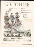 GEDINNE Poste Communications Bureaux Annexes Par BARBAZON YVON 311 Pages - Philatelie Und Postgeschichte