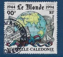 """Nle-Caledonie YT 674 """" Le Journal Le Monde """" 1994 Oblitéré - Neukaledonien"""