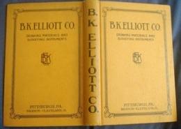 B.K. Elliott CATALOG 1920's Drawing Drafting Surveying Surveyor Topographie Géomètre Instrument Théodolite Niveau Compas - Engineering