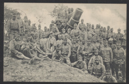 Carte Postale Militaria - Camp Des Romains : Régiment (Trier) / Voyagée. - Guerre 1914-18