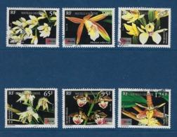 """Nle-Caledonie YT 714 à 719 """" Orchidées """" 1996 Oblitéré - Usati"""