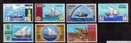 1970 Kuwait - Ships Of Old Time - Set Of 7 V MNH** (hj) MiNr. 477 - 483 - Koweït