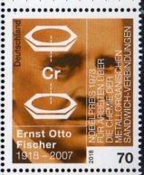 2018 Germany - 100 Years Of E.O. Fischer - Nobel Prize Winner 1973 - Dibenzolchrom - 1 V MNH** MiNr. 3420 - [7] Federal Republic