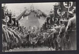 DR Bückeberg 1934 / Hitler Aufmarsch Zum Rednerpult - Guerre 1939-45