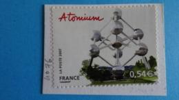 France 2007 Capitales Européennes Bruxelles Atomium  - Yvert 4076 Oblitéré Cote 1,25 € - Used Stamps
