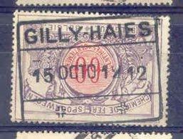 B665 -België  Spoorweg Chemin De Fer Met Stempel GILLY HAIES - Chemins De Fer
