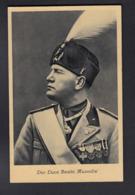 Italien / Duce Benito Mussolini / Bahnpost Berlin Kohlfurt - Guerre 1939-45