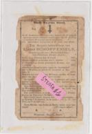 Tienen, Tirlemont, Tirlemont, Doodsprentje Lucas Schoffeniels, Oud Pauselijk Zouaaf, Strijd Tegen Garibaldi 1865 !!!!! - Esquela