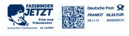 Freistempel 8205 Fassbinder Film Video - BRD