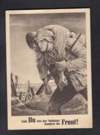 NSDAP Generalgouvernement / Soldat Mit Verwundetem - War 1939-45