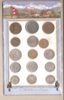 Nepal - 15 Monete Differenti In Souvenir Sheet - Nepal