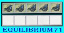 "R118** (vert Pointu / Groen) - Papillon / Vlinder ""Petit Mars Changeant"" - BELGIQUE - Coil Stamps"