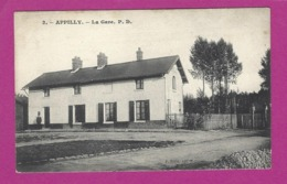 CARTES POSTALES APPILLY La Gare - Other Municipalities
