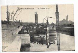 94 - ALFORTVILLE - Les Ecluses. Péniches - Alfortville