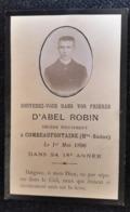 SOUVENEZ VOUS DANS VOS PRIERES COMBEAUFONTAINE 1896 DANS SA 18 ANNEE - Imágenes Religiosas