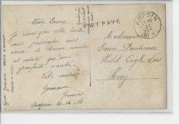 CP En Port Payé ( GFF Vi) + Càd Ampsin 31.XII.18 - Poststempel