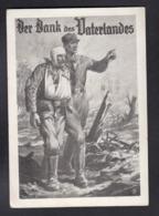 DR Verwundetenbergung / Der Dank Des Vaterlandes - Guerre 1939-45