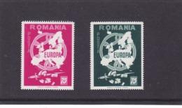 FREE ROMANIA, EUROPA, MADRID EXILE, FULL SET PERFORATED,MNH, 1959, ROMANIA - 1959