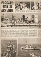 (pagine-pages)AUGUSTE PICCARD  Tempo1953. - Other