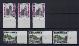 N°1480/1481 (pltn°set) MNH ** POSTFRIS ZONDER SCHARNIER SUPERBE - Numéros De Planches