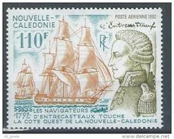 "Nle-Caledonie Aerien YT 289 (PA) "" D'Entrecasteaux "" 1992 Neuf** - Luftpost"