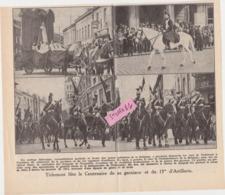 Tienen, Thienen, Tirlemont, Tijdschriftknipsel 100-jarige Viering Van De 15de Artellerie! - Vieux Papiers
