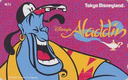 Télécarte Japon / 110-153523 - DISNEY / Film ALADDIN - Japan Movie Phonecard Telefonkarte - Disney