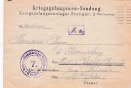 Kriegsgefangenenlager Stuttgart>Champlong Par  Vieille-Brioude Haute-Loire France-Frankreich..1918 - Allemagne