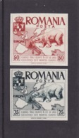 Romania Spain Exile Europa CEPT 1958 STAMP Imperforated Issue 10 Mai 1958,MNH,OG. - Europa-CEPT