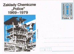 33913. Entero Postal  ZAKLADY Chemical Works POLICE (Polska) Polonia 1979. QUIMICA - Enteros Postales