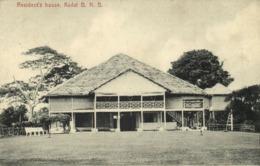 British North Borneo, SABAH KUDAT, Resident's House (1910s) Postcard - Malaysia