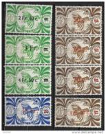 1945 - 249 à 256 **MNH - Série De Londres Surchargé - Nuevos