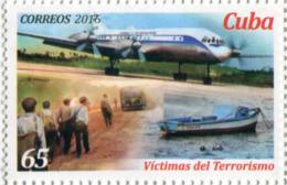 Lote CU2016-2, Cuba, 2016, Sello, Stamp, Victimas Cubanas Del Terrorismo, 2 V, Che Guevara, Cuban Victims Of Terrorism - Cuba