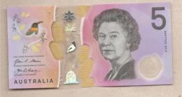 Australia - Banconota Circolata Da 5 Dollari P-62a - 2016 - Emisiones Gubernamentales Decimales 1966-...